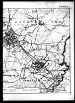 Index Map - Right, Morris County 1910